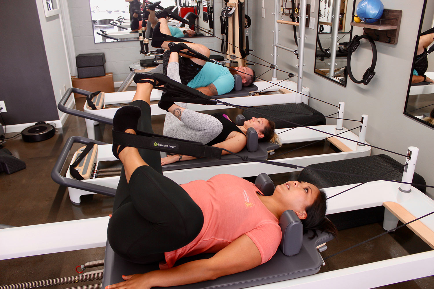 people doing Pilates at Pilates Effects